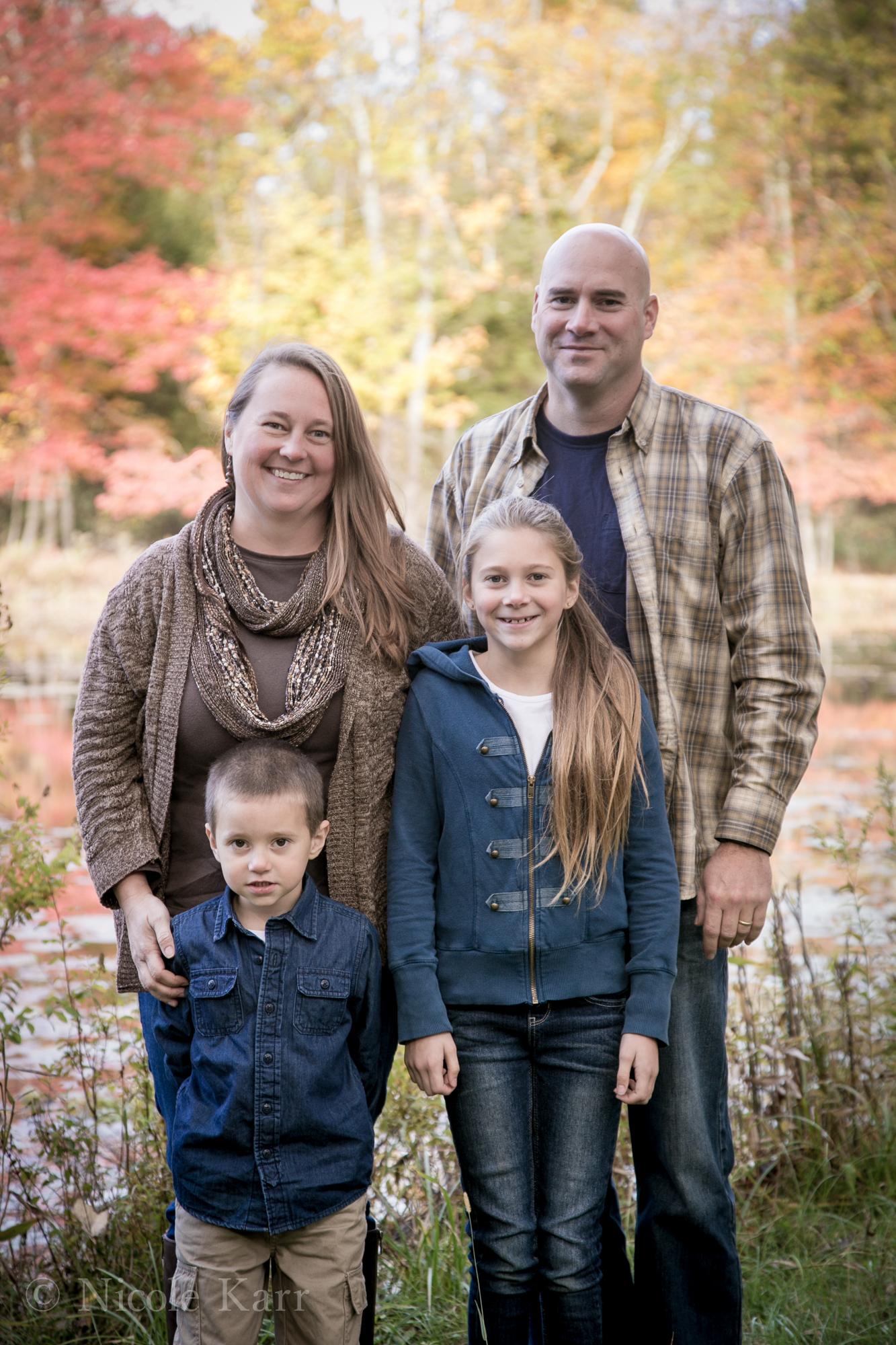 family formal standing