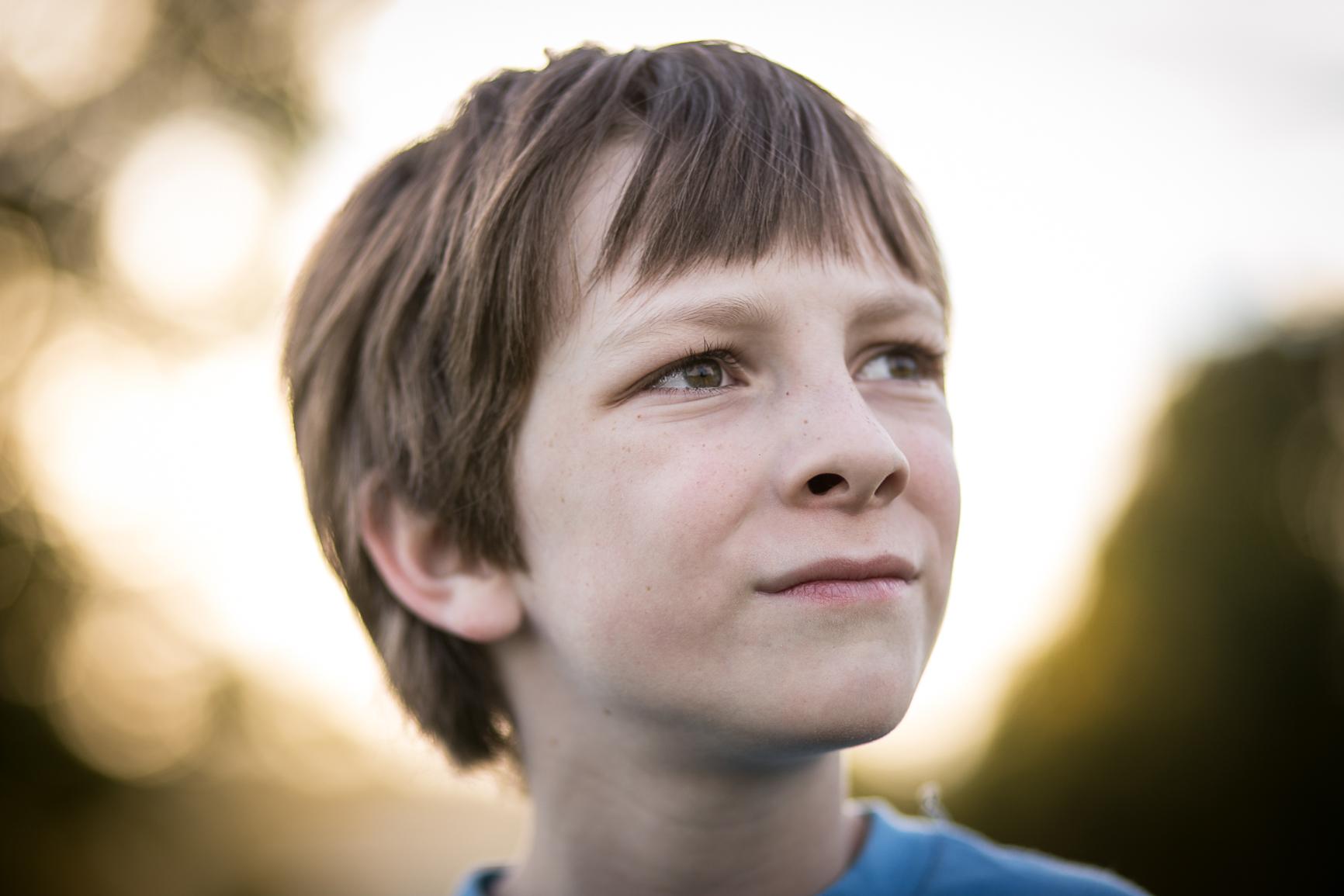 eight year old boy