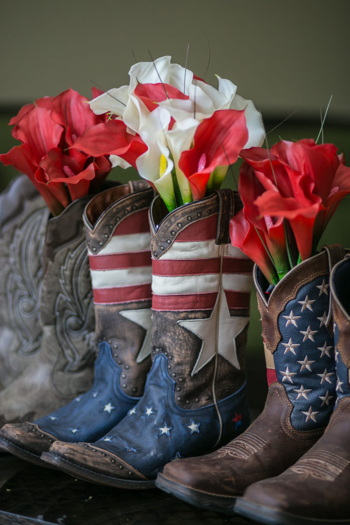 boots n flowers